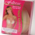 Women's Fabric & Silicone Cleavage Enhancers