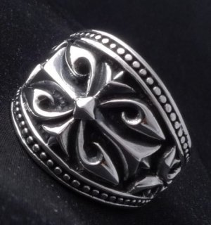 925 STERLING SILVER TRIBAL BIKER KING CRUSADER RING sz N to Z3 / US sz 7 to 15