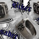 925 SILVER IRON CROSS BIKER KING CHOPPER RING US sz N-Z4 / US sz 7 to 15