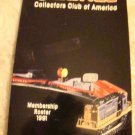 Lionel Collectors Club of America Membership Roster Bk