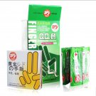 100 PCS Special Finger Latex lubricant Condoms COME FROM FAMILY PLANNING COUNTRY