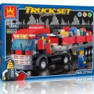 TRUCK SET - BUILDING BLOCKS 409 pcs set, Compatible with LEGO.