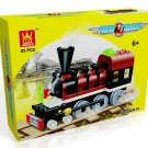 MINI TRAIN - BUILDING BLOCKS 85 pcs set, Compatible with LEGO.