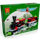 MINI TRAIN - BUILDING BLOCKS 120 pcs set, Compatible with LEGO.