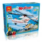 MEDICAL - HOSPITAL SERIES - BUILDING BLOCKS 223 pcs set, Compatible with LEGO.