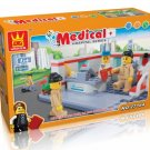 MEDICAL - HOSPITAL SERIES - BUILDING BLOCKS 152 pcs set, Compatible with LEGO.