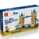 London Tower Bridge of England - BUILDING BLOCKS 1033 pcs set, Compatible with LEGO.