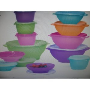 Tupperware Piece Servalier Bowl Set