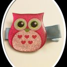 PINK SPARKLE OWL