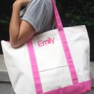 Personalized Tremendous Tote ~ Pink