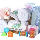 Twins Baby Deluxe Gift Basket ~ Pink ~ Twin Girls