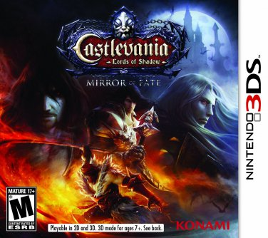 Castlevania: Lords of Shadow Mirror Fate [Nintendo 3DS Game] - Used