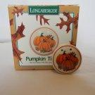 Longaberger Pumpkin Tie-On