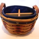 Longaberger Proudly American Button Basket Combo