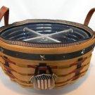 Longaberger Proudly American Darning Basket Combo