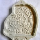 Longaberger 1993 Peace Angel Series Cookie Mold