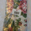 Longaberger Sentimental Rose Drapery Panels - Set of 2
