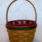 Longaberger 2005 Holiday Helper Basket Combo