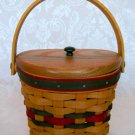 Longaberger 1998 Little Joy Basket w/ Lid