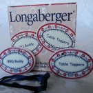 Longaberger 2000 Barbecue Buddy/Table Topper Tie-On