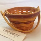 Longaberger Collector's Club May Series Miniature Morning Glory Basket