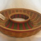 Longaberger 2007 Holiday Wreath Basket