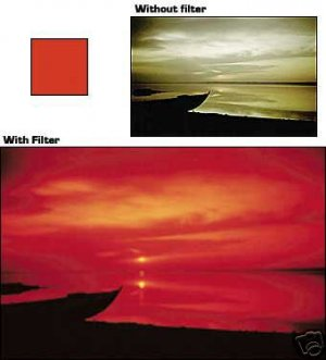 COKIN 003 A003 RED FILTER for A Series Holder  Brand New