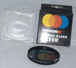 ZYKKOR 67 67mm Circular Polarizer Filter 67CPL old stock  Made in Japan  NEW