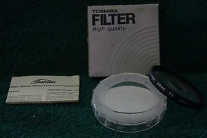 TOSHIBA 49 49mm CENTER SPOT FILTER  49CS old stock  Made In Japan   BRAND NEW
