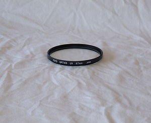 Toyo 67 67mm Optics UV Filter 67UV Made In Japan  New
