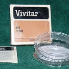 Vivitar 49 49mm 81A Filter  4981A old stock    NEW