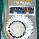Tiffen 49 49mm 81A Filter   old stock   BRAND NEW