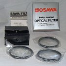 OSAWA 55 55mm CLOSE UP SET 1+,2+,4+ Filters  COATED  MADE IN JAPAN   BRAND NEW