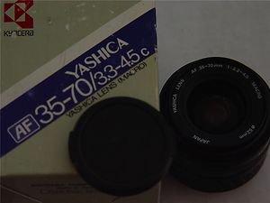 YASHICA AF 35-70 mm f3.3-45 MACRO LENS   MINT   Made In Japan