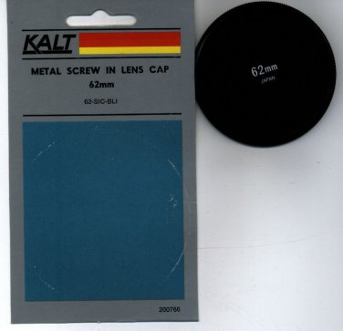 KALT 62 62mm Metal Front lens cap 62FLC MADE in Japan  BRAND NEW
