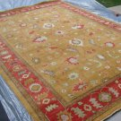 Hand Made Vegetable Dyed Peshawar Oriental Chobi Rug Carpet 11x8 i30723