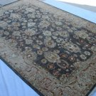 High Quality Hand Made Vegetable Dyed Peshawar Oriental Chobi Rug Carpet 9x6 i70710