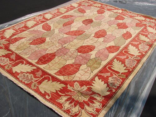 High Quality Hand Made Vegetable Dyed Peshawar Oriental Chobi Rug 10x8 i70705