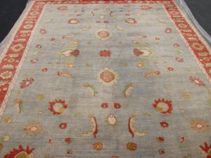 Hand Made Vegetable Dyed Peshawar Oriental Chobi Rug 9x12 i70721