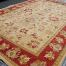 Hand Made Vegetable Dyed Peshawar Oriental Chobi Rug Carpet 14x9 i30722