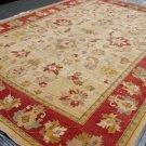 Hand Made Vegetable Dyed Peshawar Oriental Chobi Rug Carpet 14x9 i30722