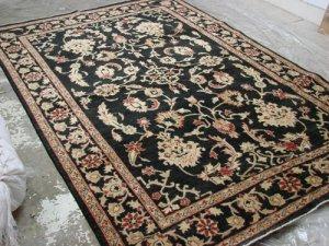 Hand Made Vegetable Dyed Peshawar Oriental Chobi Rug Carpet 10x7 i30712