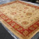 Hand Made Vegetable Dyed Peshawar Oriental Chobi Rug 11x8 i70730