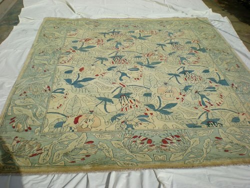 High Quality Hand Made Vegetable Dyed Peshawar Oriental Chobi Rug 10x8 i100707