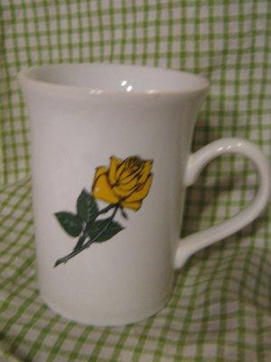 Vintage Mug Coffee Cup Texas Map Yellow Rose Maryland Coffee