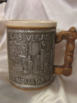 Golden Nugget Horseshoe Casino Mugs old Vegas Strip set 2