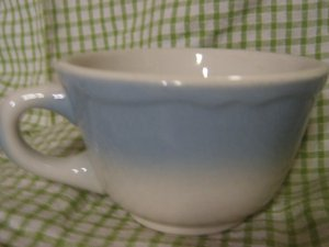 Restaurant ware Mayer China Blue Buffalo China Coffee Cup