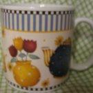 Teapots 1998 Debbie Mumm design Mug Coffee Cup Sakura