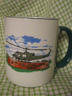 Fort Rucker, AL U.S. Army Aviation Center Aviation Army Helicopter Mug