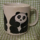 Dated Panda Bear Teddy Bear Vintage Mug Coffee Cup Vintage